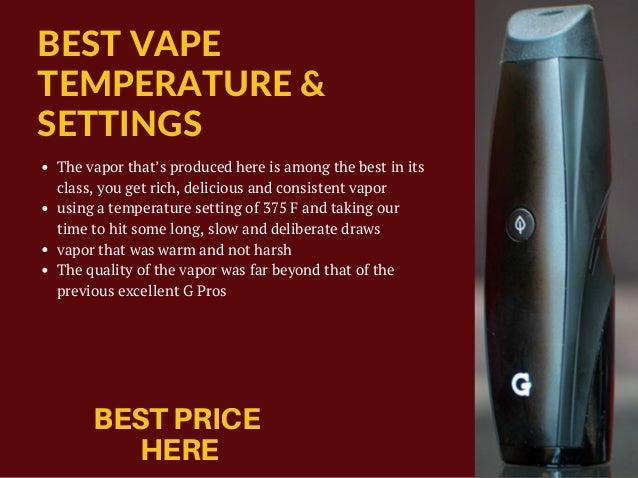 G Pen Elite Vaporizer Review: Dry Herb Vaporizer