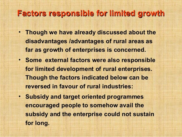 disadvantages of subsidies
