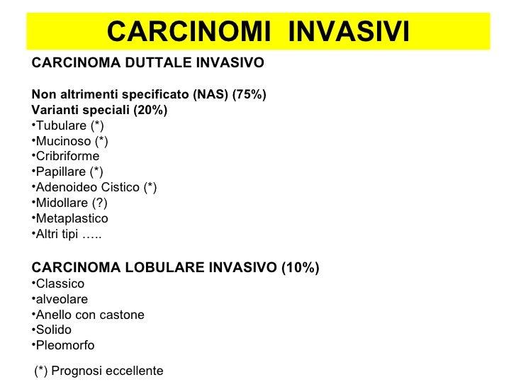 carcinoma lobulare invasivo prognosi