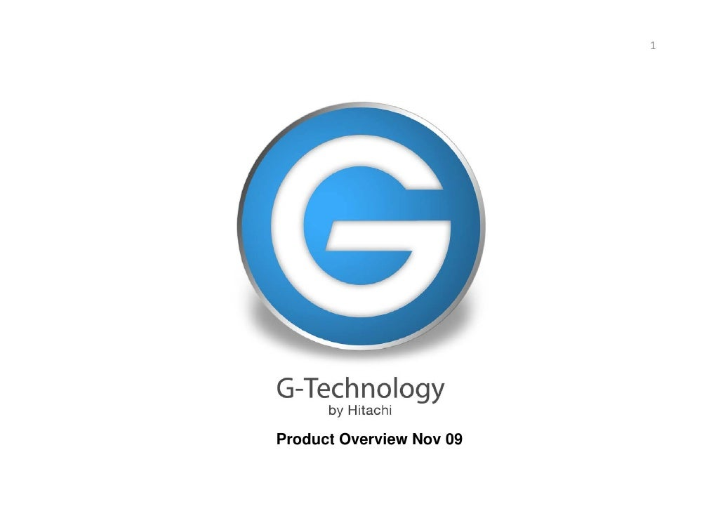 1     Product Overview Nov 09