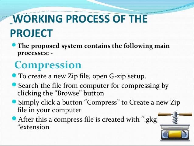 G zip compresser ppt