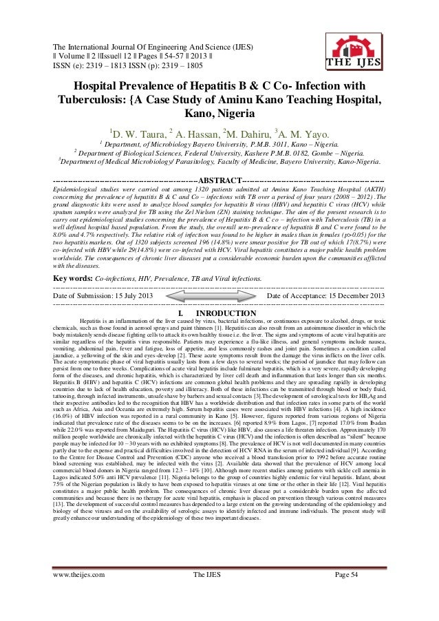The International Journal Of Engineering And Science (IJES) || Volume || 2 ||Issue|| 12 || Pages || 54-57 || 2013 || ISSN ...