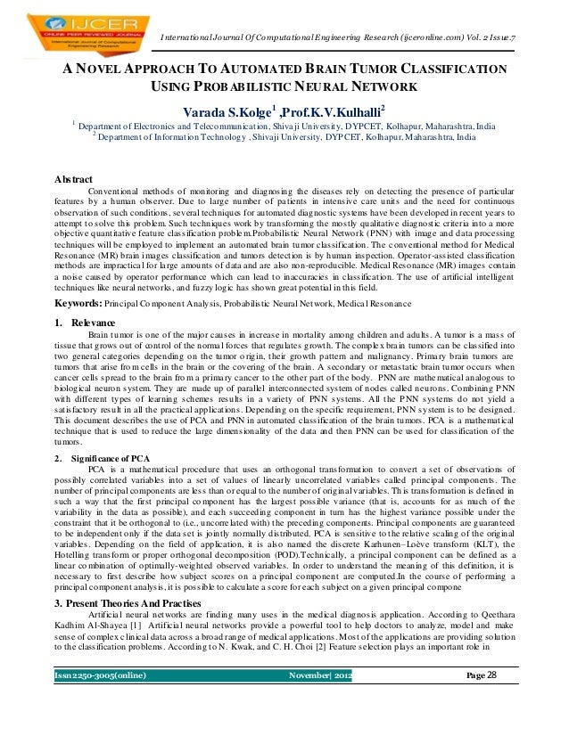 I nternational Journal Of Computational Engineering Research (ijceronline.com) Vol. 2 Issue.7     A N OVEL APPROACH TO AUT...