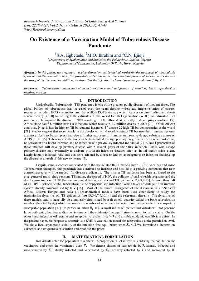 Research Inventy: International Journal Of Engineering And ScienceIssn: 2278-4721, Vol.2, Issue 7 (March 2013), Pp 41-44Ww...