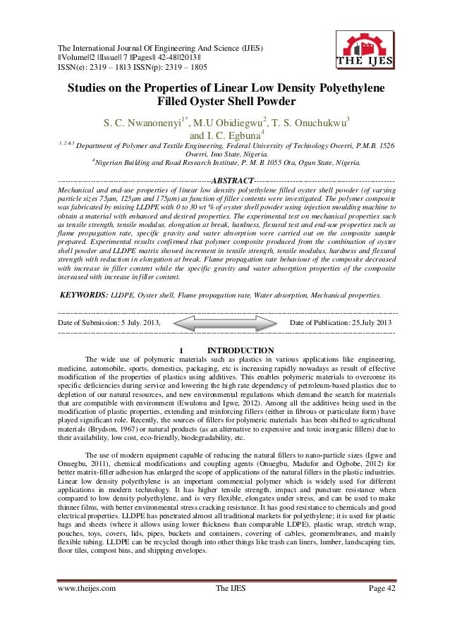 The International Journal Of Engineering And Science (IJES) ||Volume||2 ||Issue|| 7 ||Pages|| 42-48||2013|| ISSN(e): 2319 ...