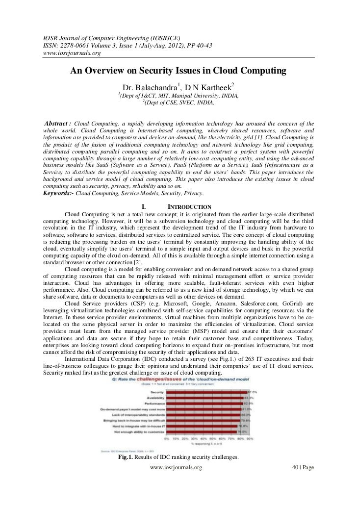 IOSR Journal of Computer Engineering (IOSRJCE)ISSN: 2278-0661 Volume 3, Issue 1 (July-Aug. 2012), PP 40-43www.iosrjournals...