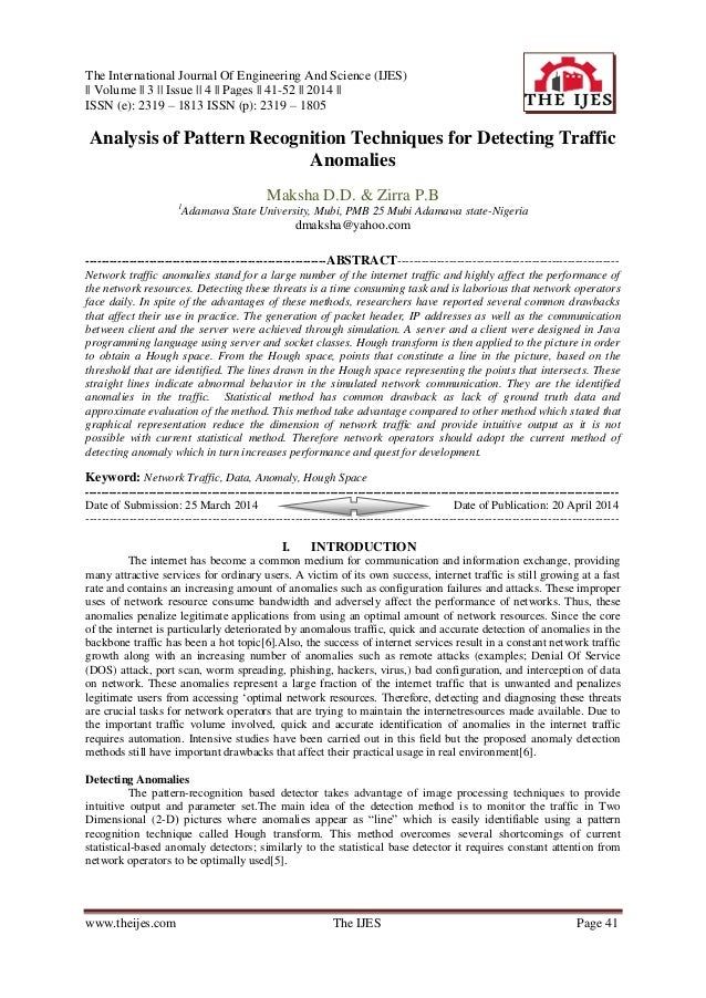 The International Journal Of Engineering And Science (IJES) || Volume || 3 || Issue || 4 || Pages || 41-52 || 2014 || ISSN...