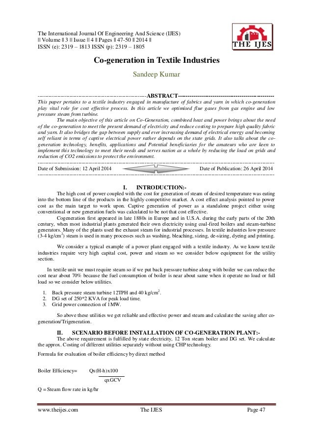 The International Journal Of Engineering And Science (IJES) || Volume || 3 || Issue || 4 || Pages || 47-50 || 2014 || ISSN...