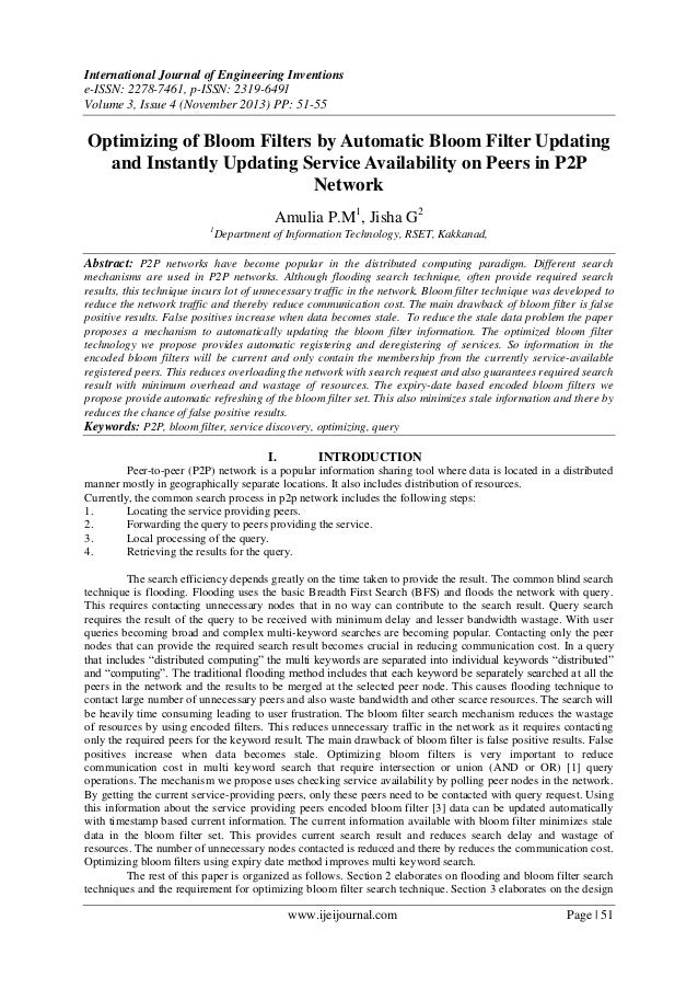 International Journal of Engineering Inventions e-ISSN: 2278-7461, p-ISSN: 2319-6491 Volume 3, Issue 4 (November 2013) PP:...