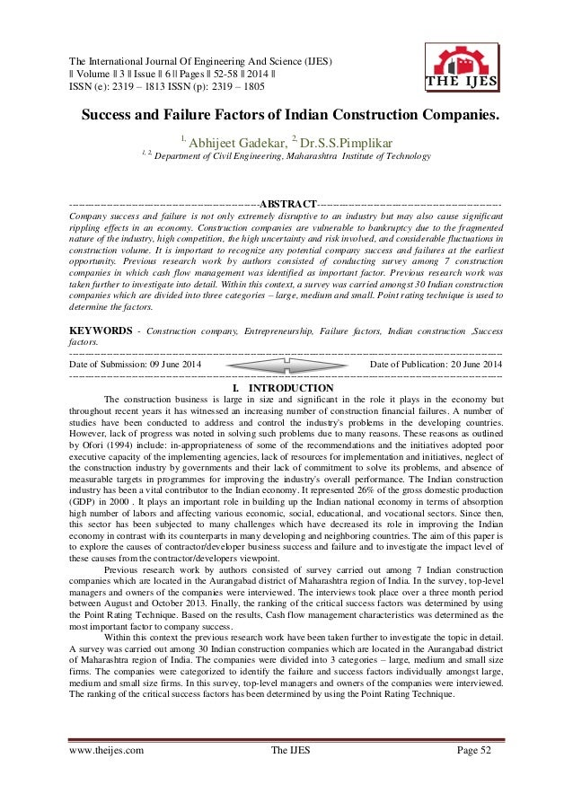 The International Journal Of Engineering And Science (IJES) || Volume || 3 || Issue || 6 || Pages || 52-58 || 2014 || ISSN...