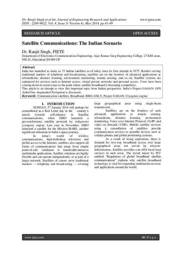 Dr. Ranjit Singh et al Int. Journal of Engineering Research and Applications www.ijera.com ISSN : 2248-9622, Vol. 4, Issue...