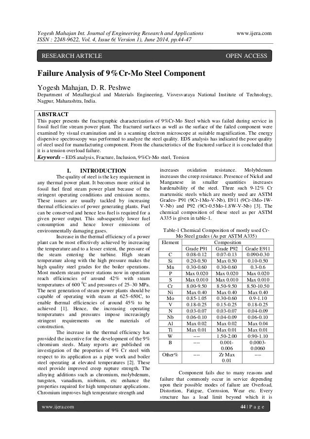 Yogesh Mahajan Int. Journal of Engineering Research and Applications www.ijera.com ISSN : 2248-9622, Vol. 4, Issue 6( Vers...