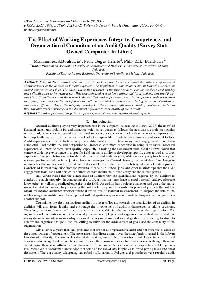 effects of repeated experiences with organizational Using a repeated measures design, this study surveyed trainees at three different time intervals to measure effectiveness of training to help new employees understand and adapt to the organization's philosophy on quality.