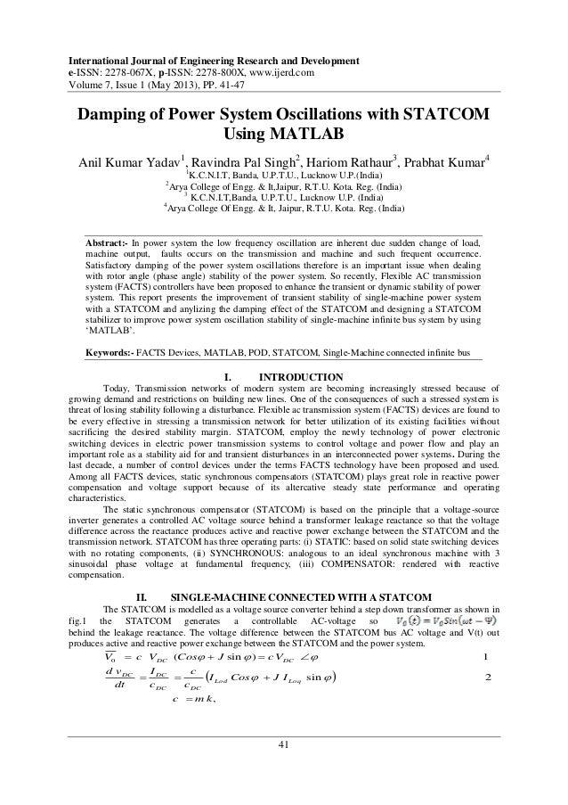 International Journal of Engineering Research and Developmente-ISSN: 2278-067X, p-ISSN: 2278-800X, www.ijerd.comVolume 7, ...