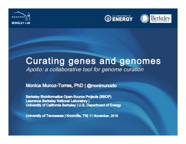 Curating genes and genomes
