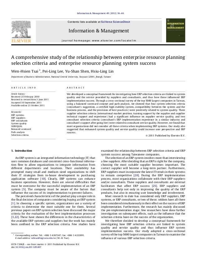 Information & Management 49 (2012) 36–46  Contents lists available at SciVerse ScienceDirect  Information & Management jou...