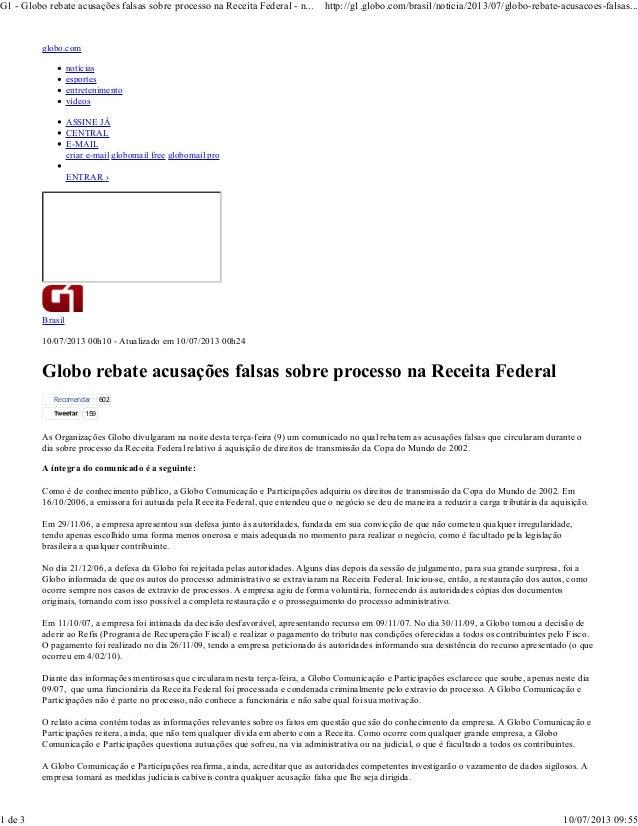 globo.com notícias esportes entretenimento vídeos ASSINE JÁ CENTRAL E-MAIL criar e-mail globomail free globomail pro ENTRA...