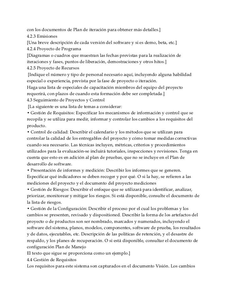 con los documentos de Plan de iteración para obtener más detalles.]4.2.3 Emisiones[Una breve descripción de cada versión d...