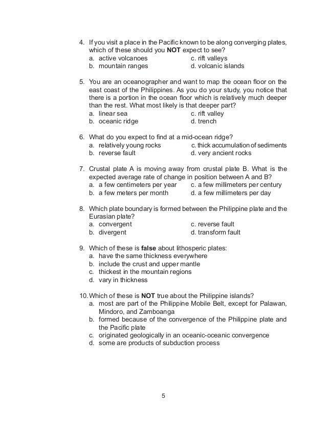 G10 Science :Earth and Space -Learner's Module 1st Quarter