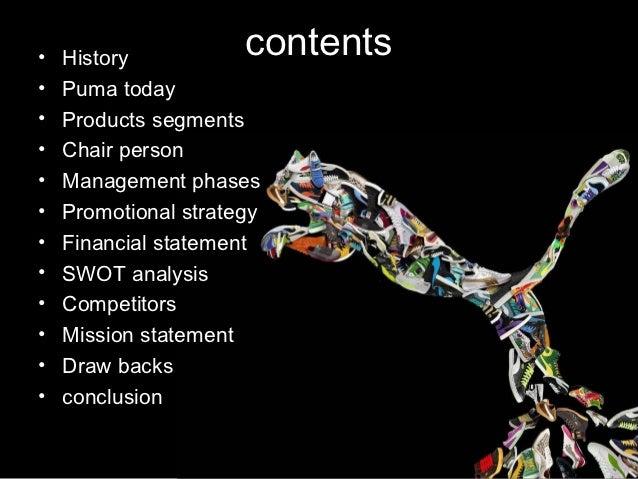 Puma strategic analysis College paper Example