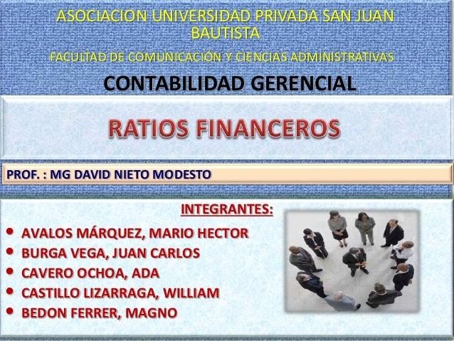 1 CONTABILIDAD GERENCIAL ASOCIACION UNIVERSIDAD PRIVADA SAN JUAN BAUTISTA FACULTAD DE COMUNICACIÓN Y CIENCIAS ADMINISTRATI...