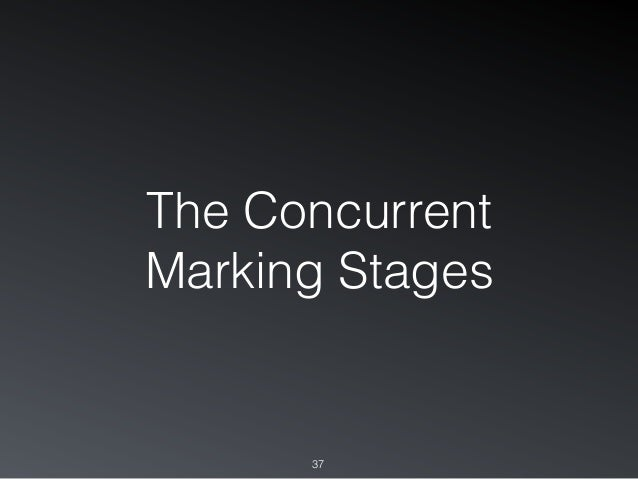 The Concurrent Marking Stages 37