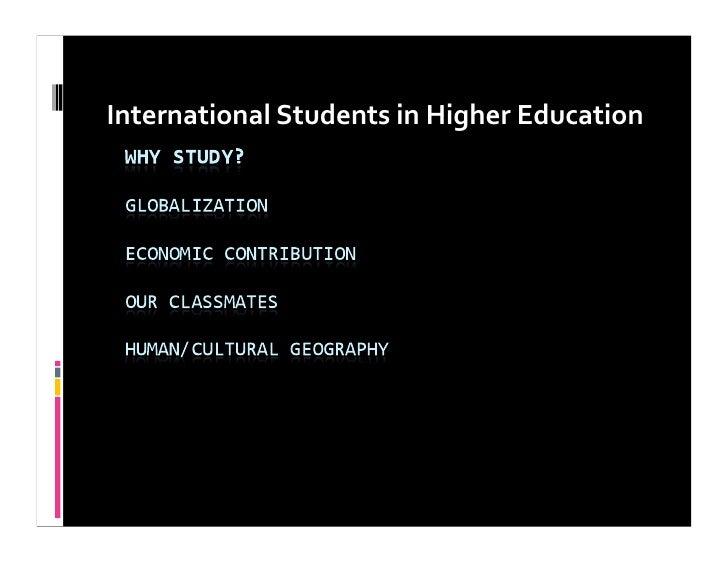 InternationalStudentsinHigherEducation