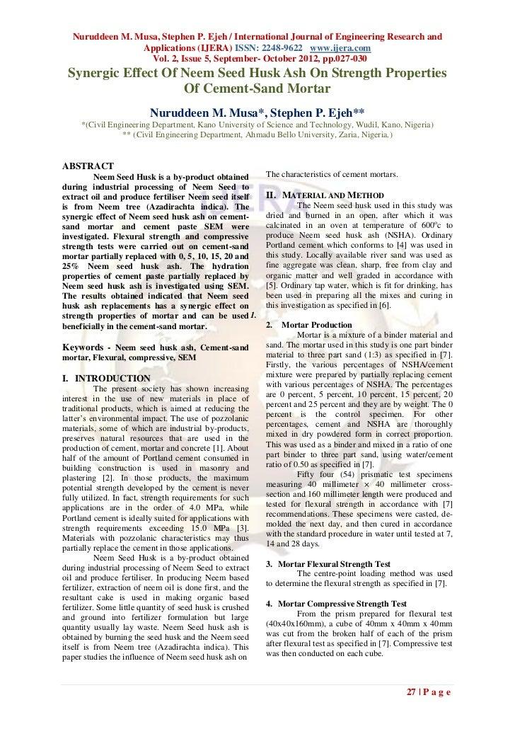 Nuruddeen M. Musa, Stephen P. Ejeh / International Journal of Engineering Research and                 Applications (IJERA...