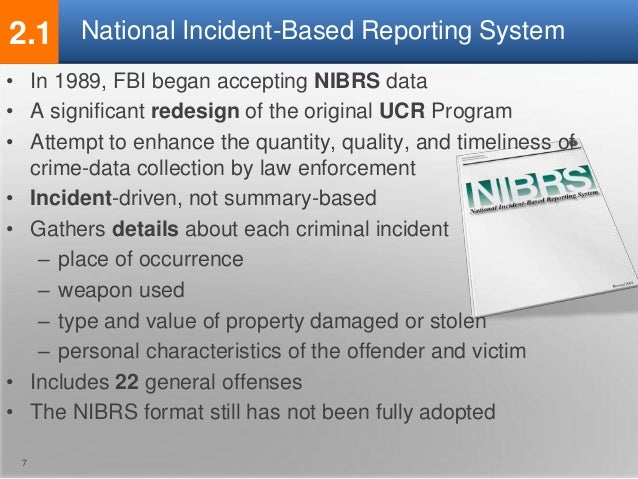 National Incident-Based Reporting System