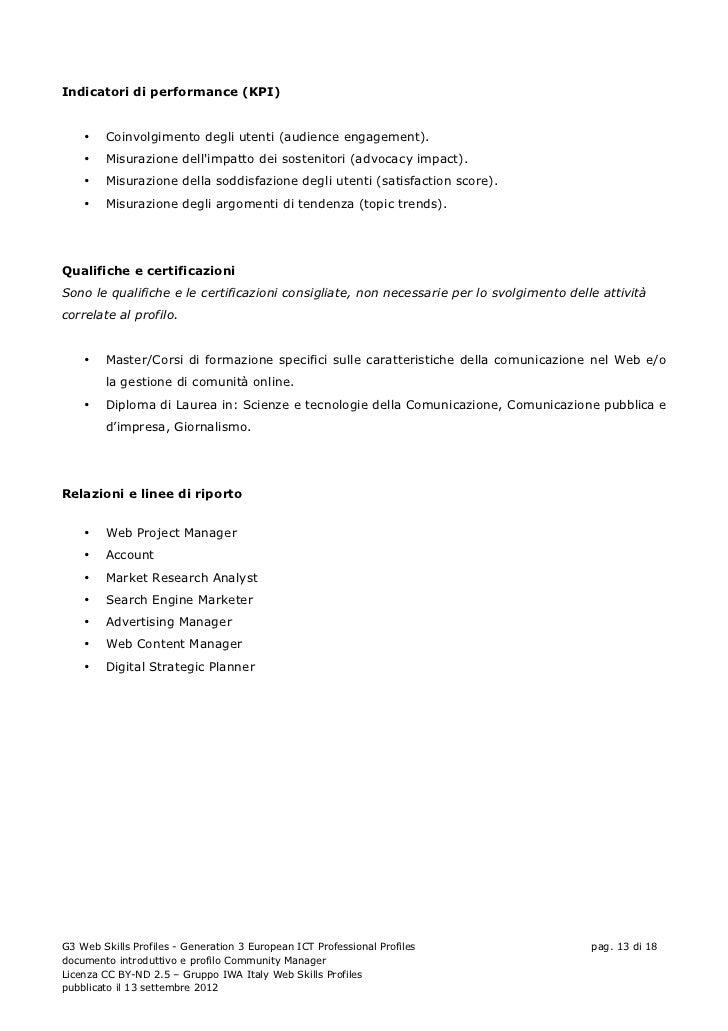 Indicatori di performance (KPI)    •   Coinvolgimento degli utenti (audience engagement).    •   Misurazione dellimpatto d...