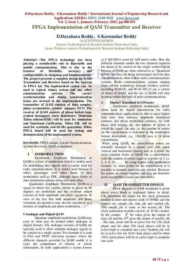 D.Dayakara Reddy, S.Karunakar Reddy / International Journal of Engineering Research and                 Applications (IJER...