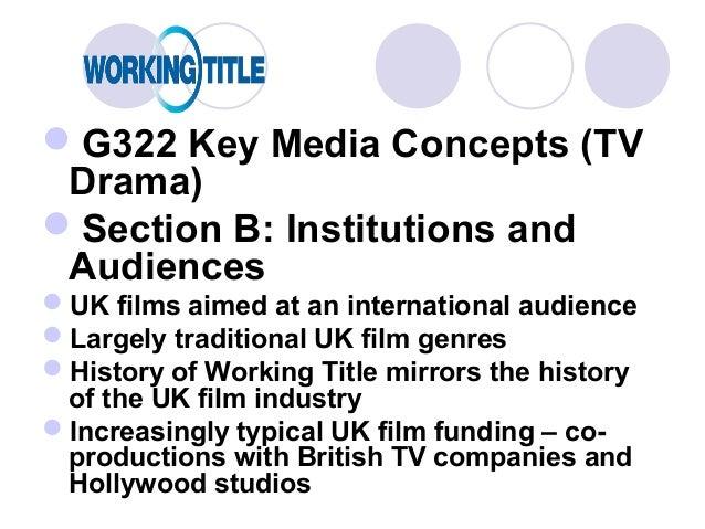 media g322 case study