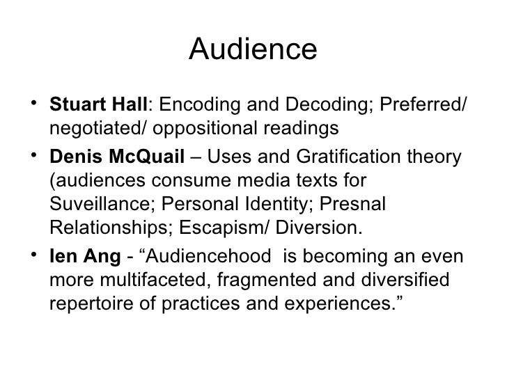 stuart hall encoding and decoding essay As such, this model prompted shifts towards qualitive studies of audiences thereafter stuart halls seminal paper: encoding/decoding (1980), arose primarily from halls reservation about the theories of communication.