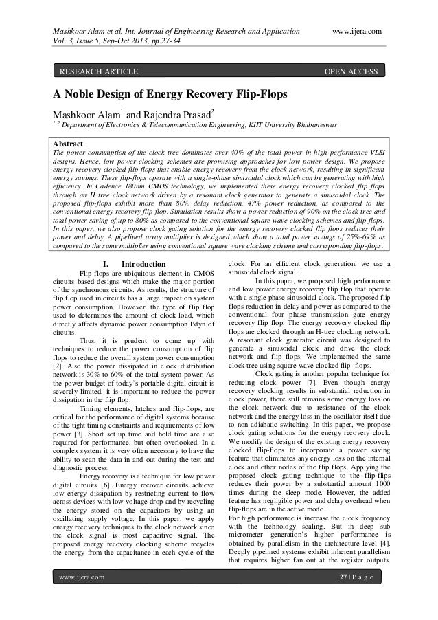 Mashkoor Alam et al. Int. Journal of Engineering Research and Application www.ijera.com Vol. 3, Issue 5, Sep-Oct 2013, pp....