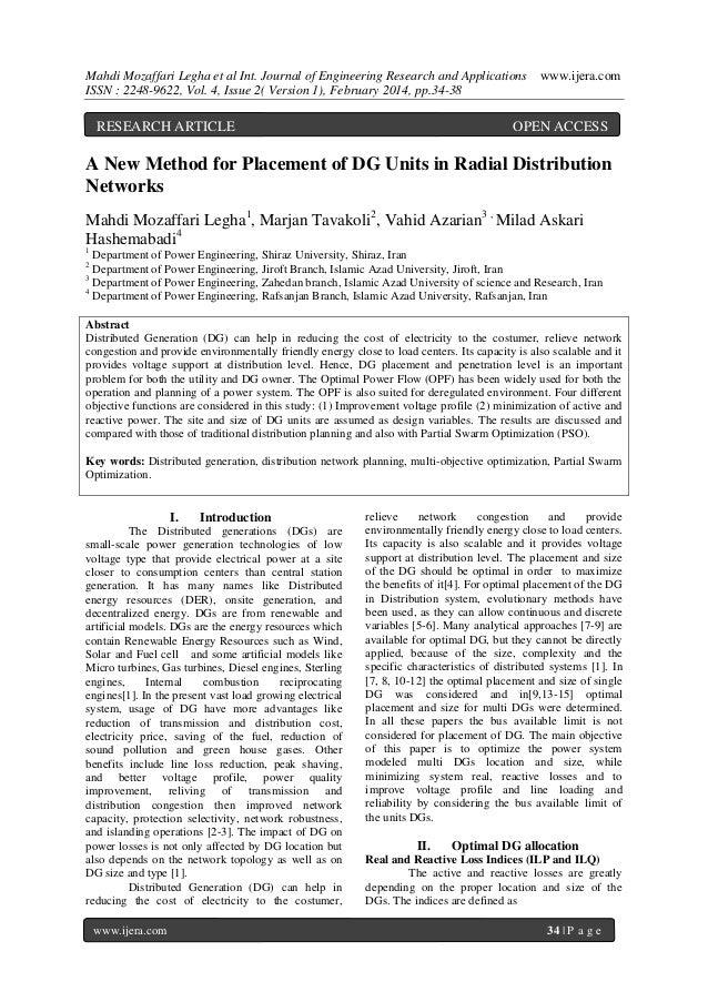Mahdi Mozaffari Legha et al Int. Journal of Engineering Research and Applications ISSN : 2248-9622, Vol. 4, Issue 2( Versi...