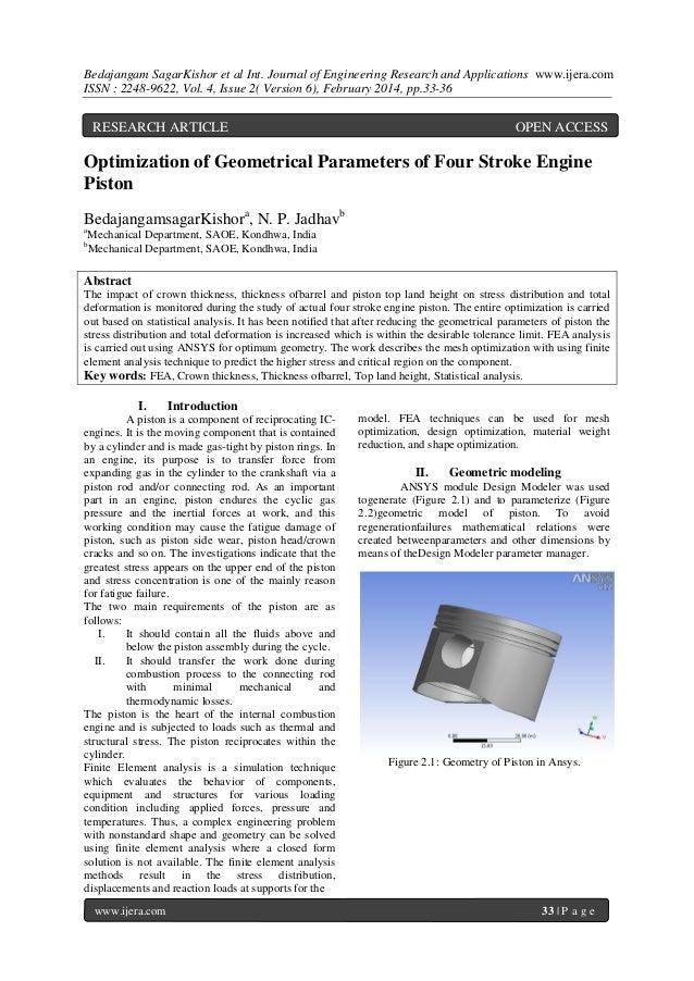 Bedajangam SagarKishor et al Int. Journal of Engineering Research and Applications www.ijera.com ISSN : 2248-9622, Vol. 4,...