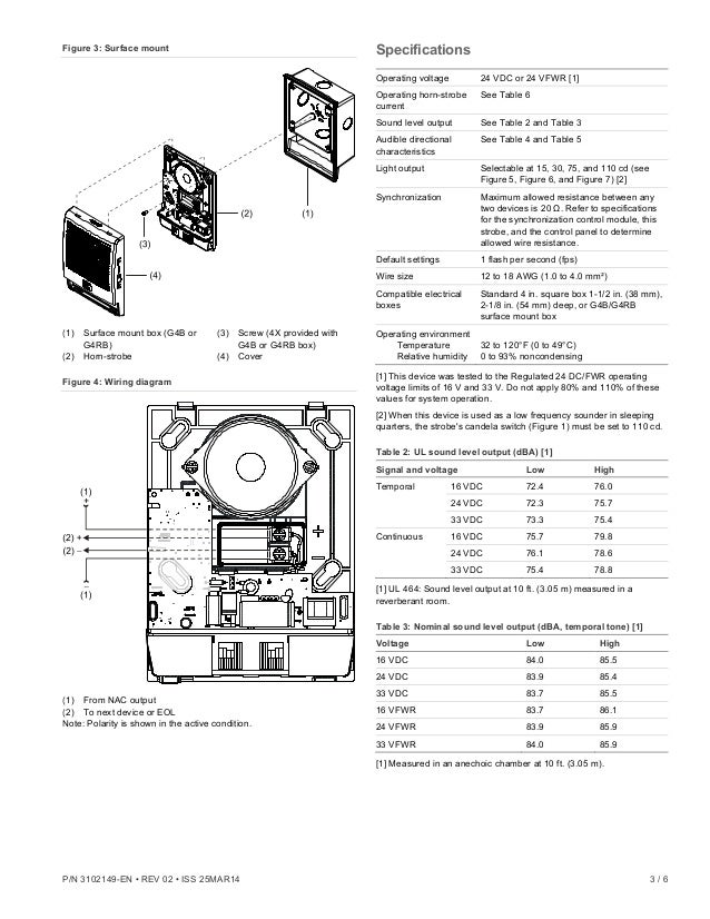 Edwards Signaling G4LFRF-HVM Installation Manual