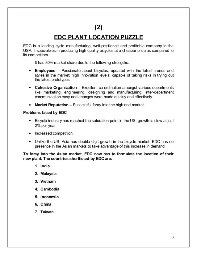 edc plant location puzzle Location - crossword clues search through millions of crossword puzzle answers to find crossword clues with the answer locationtype the crossword puzzle answer, not the clue, below.