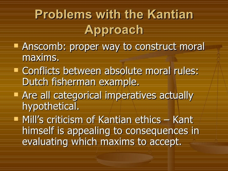 kantian ethics demands that we treat Kantian ethics is the moral  another interpretation of the categorical imperative  the second formulation states that we should treat other rational beings as.