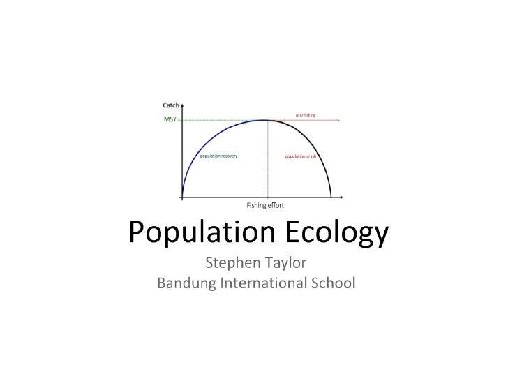 G5: Population Ecology (HL)