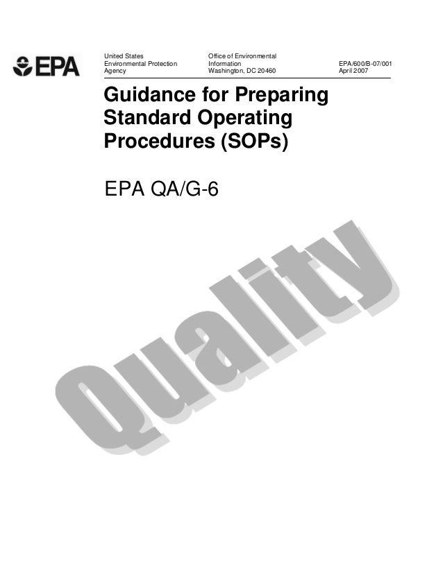 United States Office of Environmental  Environmental Protection Information EPA/600/B-07/001  Agency Washington, DC 20460 ...