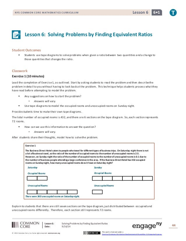 G6 m1 a lesson 6 t nys common core mathematics curriculum lesson 6 6 1 lesson 6 solving problems by ccuart Images
