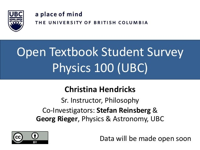 BC OER Research Fellows on Open Textbooks Slide 3