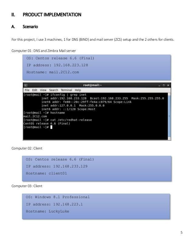 Installation: Zimbra Mail Server Installation Guide