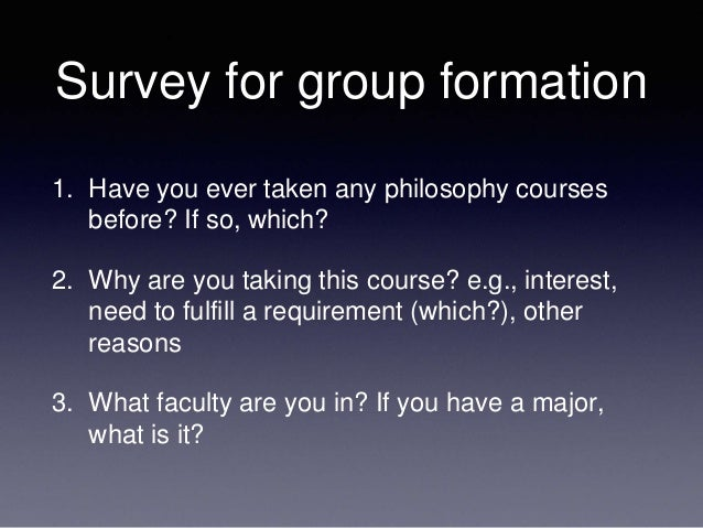 philosophy 102 Note especially: although philosophy 102 introduction to philosophy fulfills the general education core curriculum requirement for humanities, this course does not fulfill the re- quirement for logical and analytical thought.