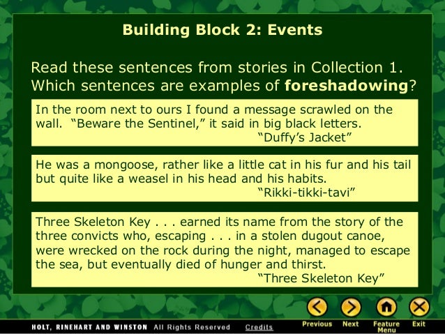 Story elements notes and practice in depth building block 2 events 13 ccuart Choice Image