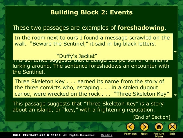 Story elements notes and practice in depth three skeleton key building block 2 events 14 ccuart Choice Image