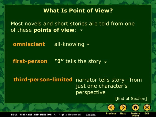 "the point of view of stories Holy shit, free stories ""this guy  25 things you should know about narrative point-of-view « terribleminds: chuck wendig 
