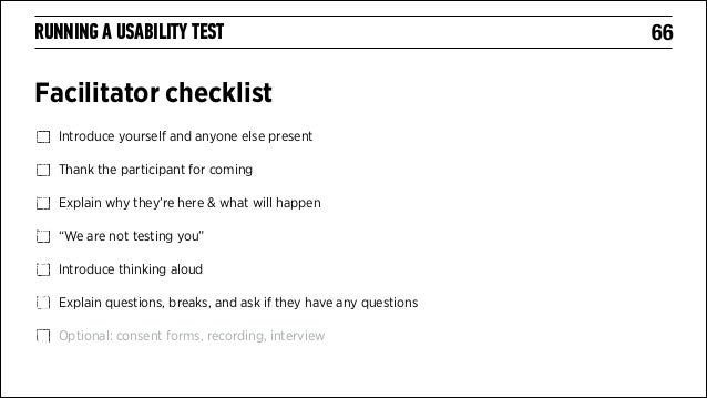 usability study template - introduction to usability testing the diy approach ga