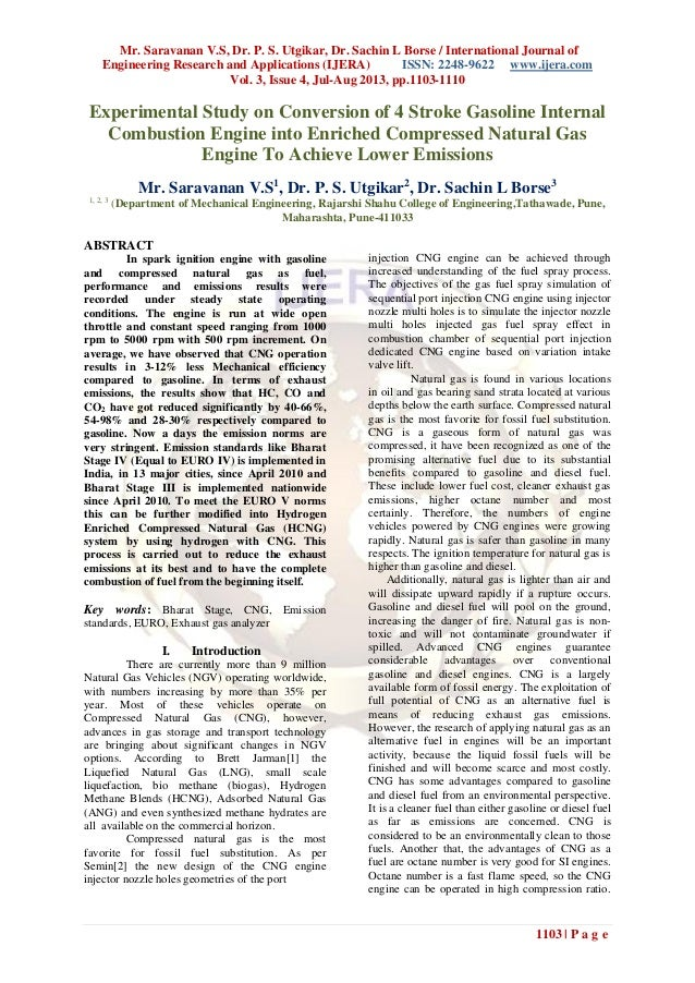 Mr. Saravanan V.S, Dr. P. S. Utgikar, Dr. Sachin L Borse / International Journal of Engineering Research and Applications ...